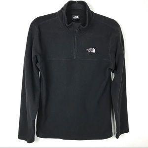 The North Face Black Pullover Fleece Sweater Sz XL
